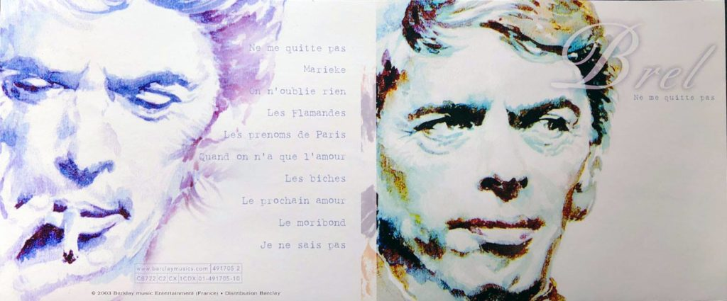 Portrait Jacques Brel
